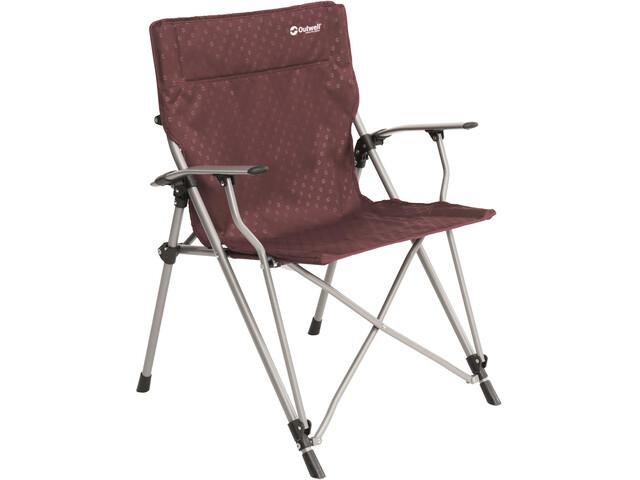 Outwell Goya Folding Chair claret